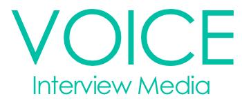 interview media voice
